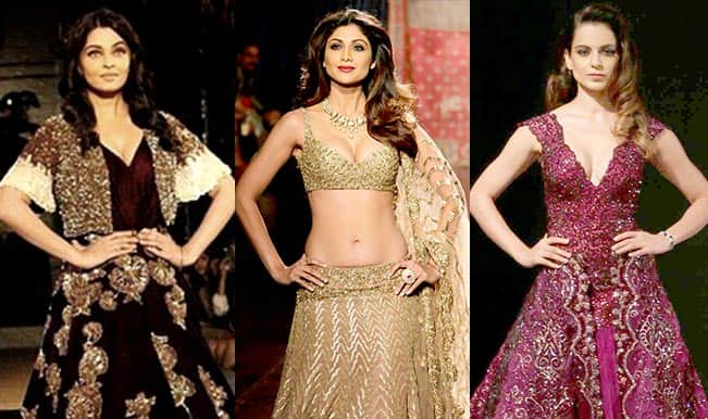 Aishwarya Rai Bachchan, Kangana Ranaut or Shilpa Shetty: Who looked more ravishing at AICW 2015?
