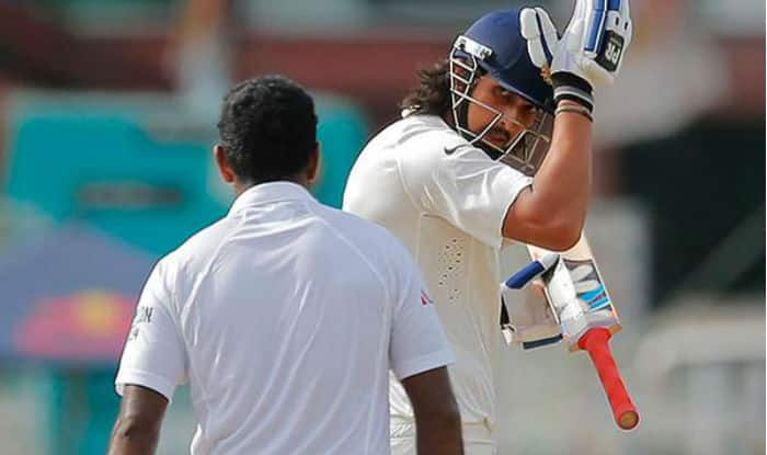 Watch Ishant Sharma's bizarre but funny head beating celebration!