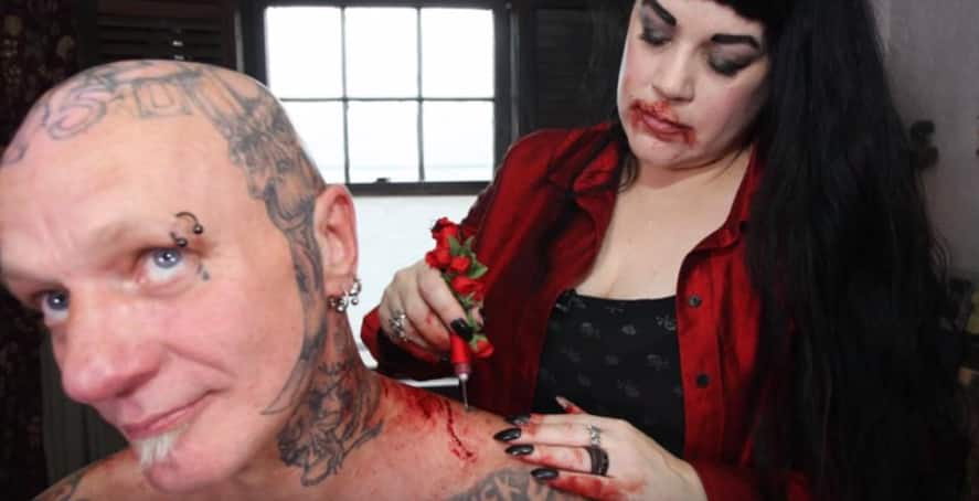 This woman has been drinking human blood since 30 years!