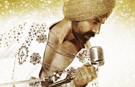 Akshay Kumar rocks the golden turban avatar on the blingy new poster of Singh Is Bliing