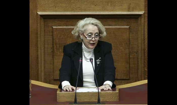 Greece names Vassiliki Thanou as interim prime minister – the country's first female PM