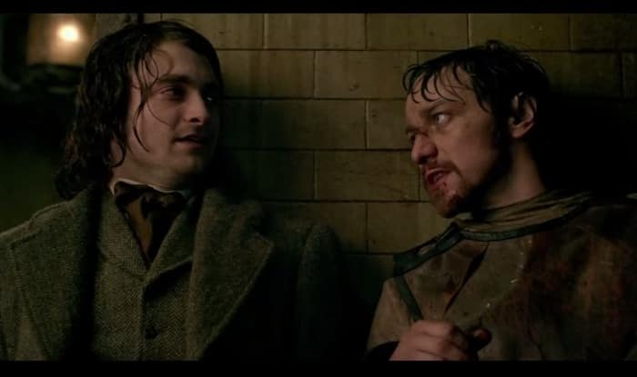 Victor Frankenstein trailer: Daniel Radcliffe and James McAvoy star in old tale retold