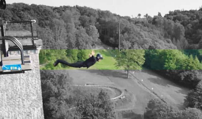 World's first wireless bungee jump is all about magnetism