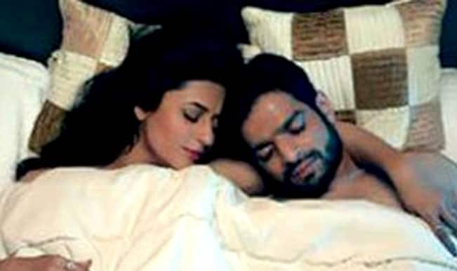 Leaked pictures of Yeh Hai Mohabbatein steamy love-making
