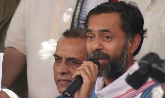 Farmer Unions extend support to Yogendra Yadav