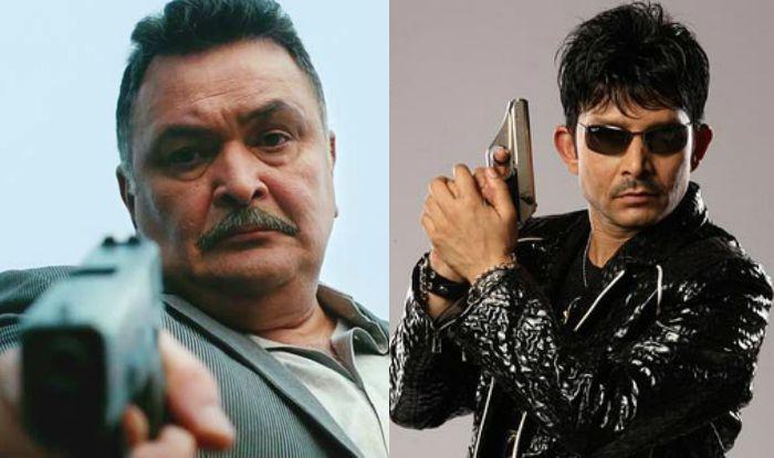 Rishi Kapoor-KRK Twitter war turns ugly with Rishi threatening KRK!