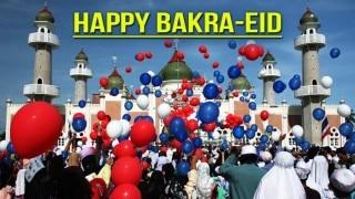 #EidMubarak People share Happy Bakri Eid wishes on Twitter