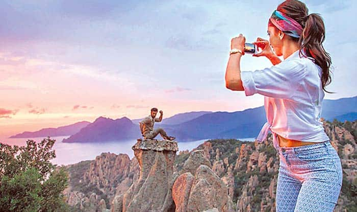 New stills from Deepika Padukone and Ranbir Kapoor's Tamasha will make you fall in love with France!