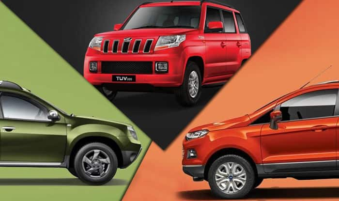 Mahindra TUV300 vs Renault Duster vs Ford EcoSport: Compare Features, Specifications and Price in India