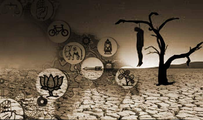 Farmers' suicide continue, politicians play blame game