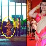 Rani Mukerji spotted flaunting her baby bump