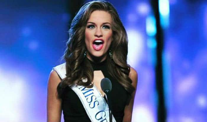 Miss Georgia Betty Cantrell crowned Miss America 2016