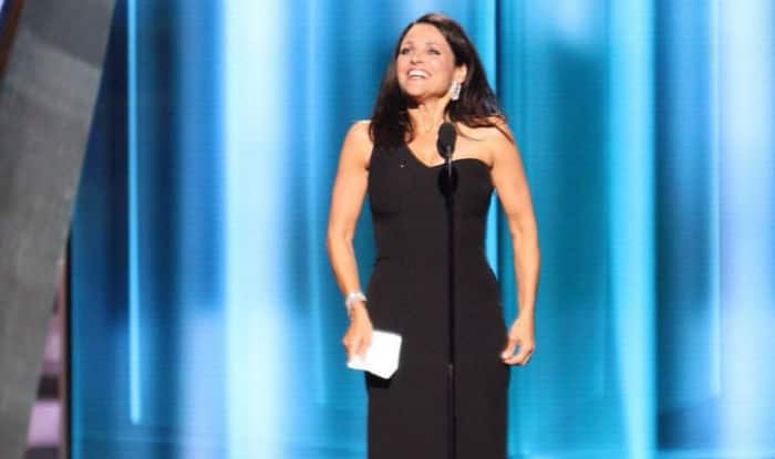 Julia Louis-Dreyfus wins fourth Emmy in a row for Veep