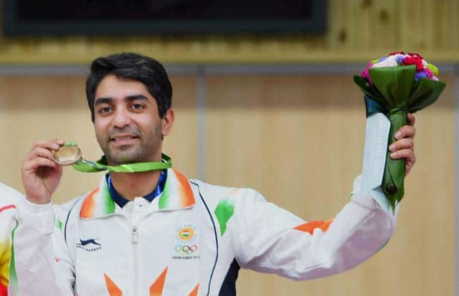 Abhinav Bindra wins gold medal at Asian AirGun Championships