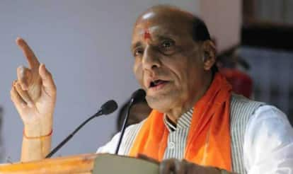 RSS not running the government: Rajnath Singh