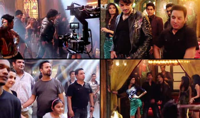 Hero behind the scenes: Making of Dance Ke Legend song–Athiya Shetty and Sooraj Pancholi have a blast!