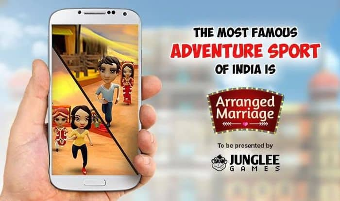 WTF! New mobile game Junglee Arranged Marriages 'helps' brides run away from their wedding!