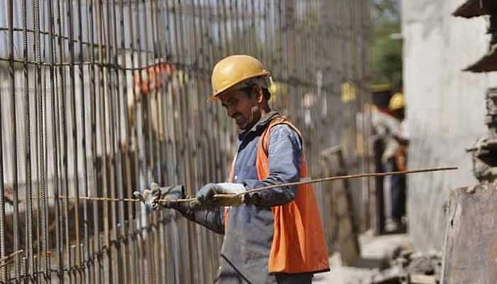 12 labourers injured in mishap at construction site