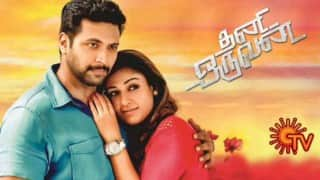Telugu remake rights of Thani Oruvan bought for Rs.5.5 crore