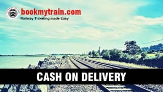 Now book train ticket using COD option, thanks to BookMyTrain App