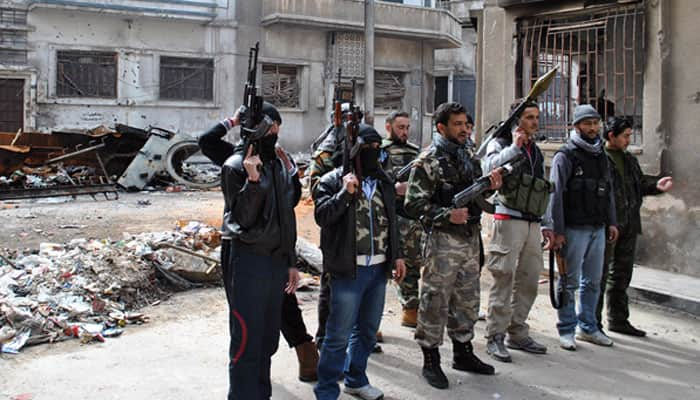 US-trained Syrian rebels investigating alleged defection