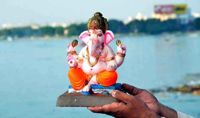 Ganesh immersion in Hyderabad amid tight security