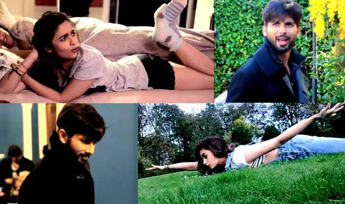 Shaandaar making: Shahid Kapoor and Alia Bhatt go crazy in this mad-mad video!