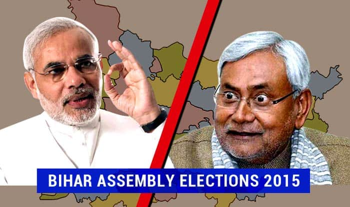 Bihar Assembly Elections 2015 Opinion Poll: NDA gains support to become neck and neck with Grand Alliance