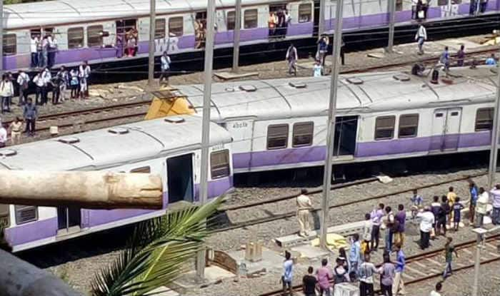 Mumbai local train derails, services hit