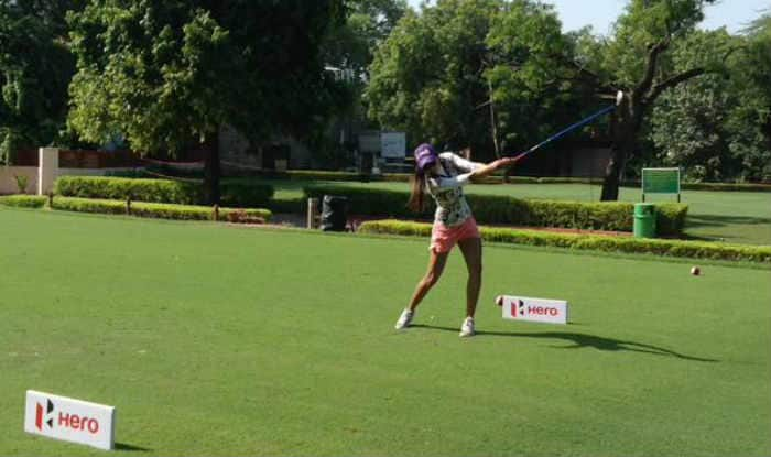 Hero Women's Professional Golf Tour 2015: Sharmila Nicollet retains lead after second round