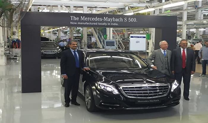 Mercedes to locally assemble Maybach S500 at Pune plant