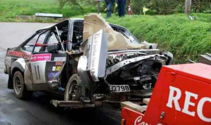 Six killed when rally car crashes into crowd in Spain - India.c