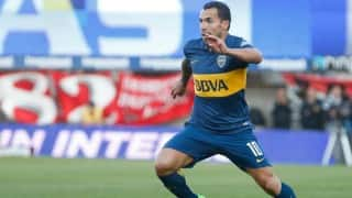 Carlos Tevez to decide on Chinese League move during honeymoon