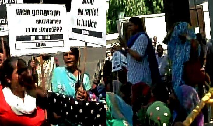 Nepalese women rape case: Women organisations protest outside Saudi embassy in Delhi