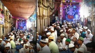 Muslims offer aarti in Ganesh Festival, Hindus join in Qawwali! Picture & Story go viral