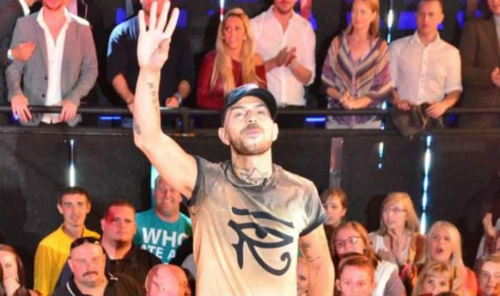 Singer Abz Love from 5ive sells his Brit Award on eBay