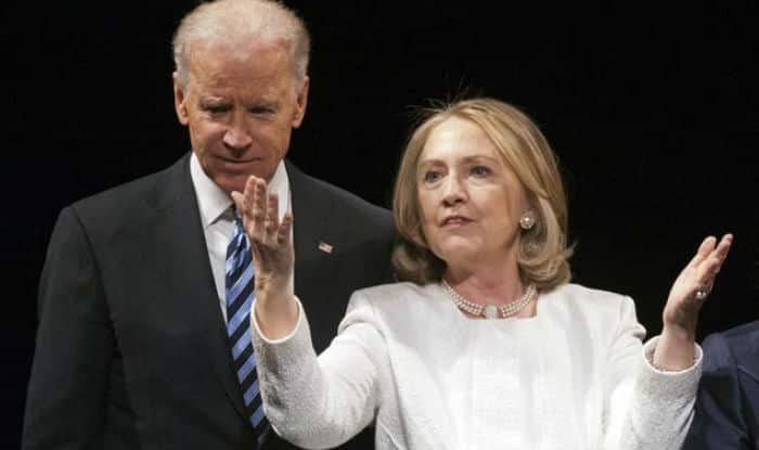 Hillary Clinton's lead eroded by Joe Biden's surge in poll