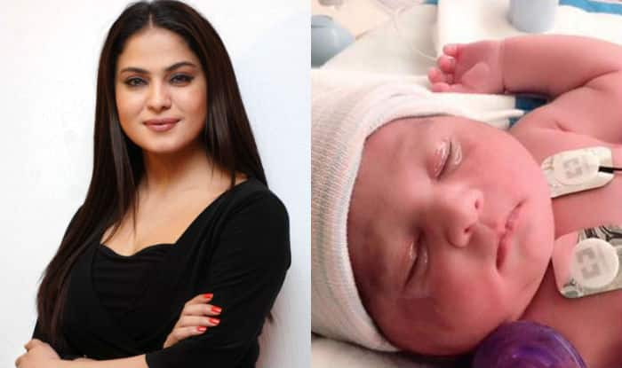 Veena Malik and hubby Asad Bashir Khan Khattak are proud parents of a baby girl