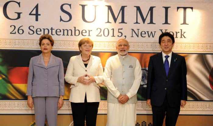 United Nations Security Council needs inclusion of largest democracies for reformation: Narendra Modi at G4 Summit