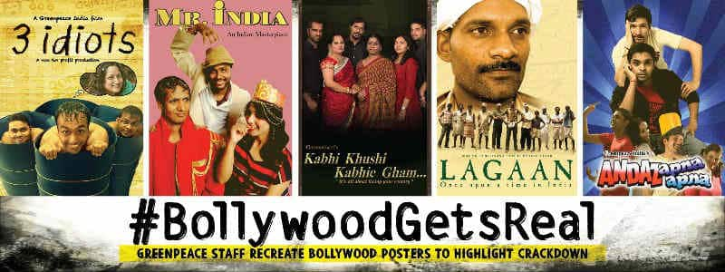Following ban, Greenpeace designs Bollywood posters for campaigns