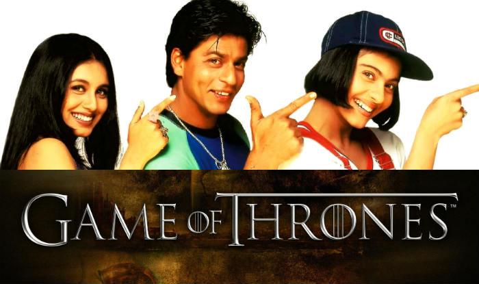 Shah Rukh Khan, Kajol, Salman Khan & Rani Mukerji in Game of Thrones? This mashup video is hilarious