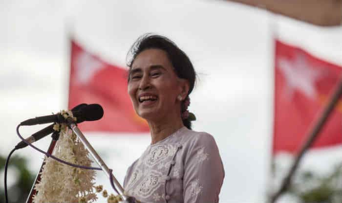 Myanmar's Aung San Suu Kyi opens election campaign on Facebook