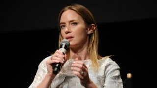 Emily Blunt apologises for offhand joke about Republican presidential debate