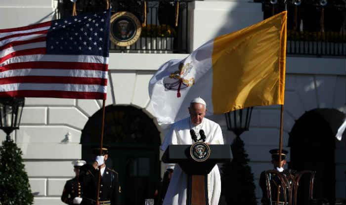 Pope Francis at White House: Climate change action can't wait