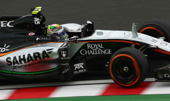 Sergio Perez qualifies 9th for Japanese Grand Prix