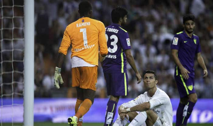 Spanish La Liga 2015-16: Real Madrid drop to third spot after 0-0 draw against Malaga