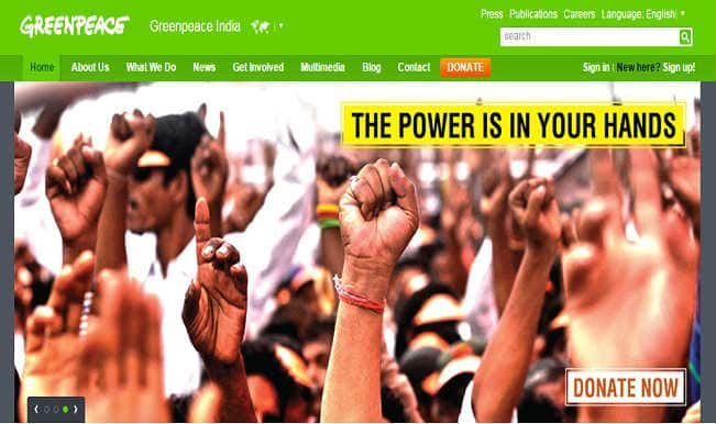 Relief for Greenpeace, Madras HC stays block of foreign funds