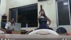 Shocking!!! Haryana girl drinks 'daru', makes 'tamasha' whole night at Andheri police station in Mumbai