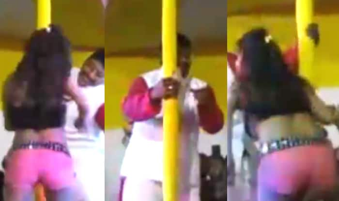 Bihar Elections 2015: JDU candidate Abhay Kushwaha caught pole dancing with bar girl in viral video
