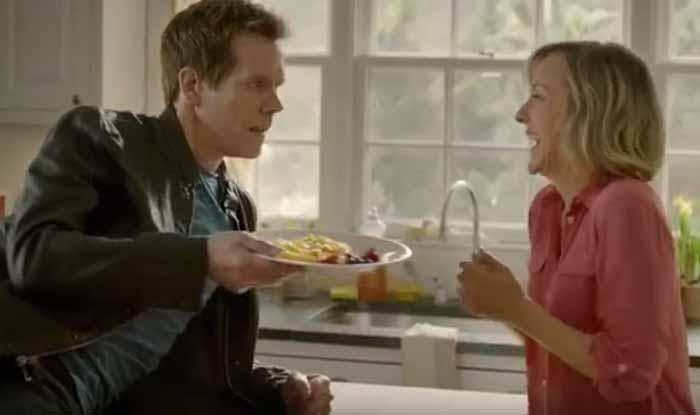 Kevin Bacon in eggs advert is extremely funny
